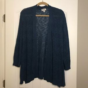 Light plus size cardigan